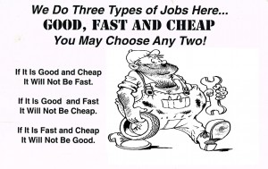 three type jobs